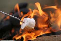 roasting-marshmellows